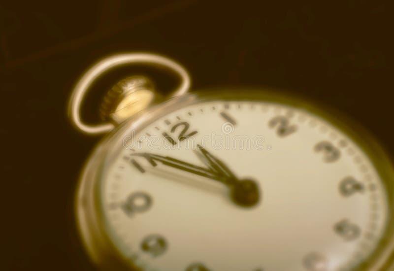 εκλεκτής ποιότητας ρολόι τσεπών στοκ φωτογραφία