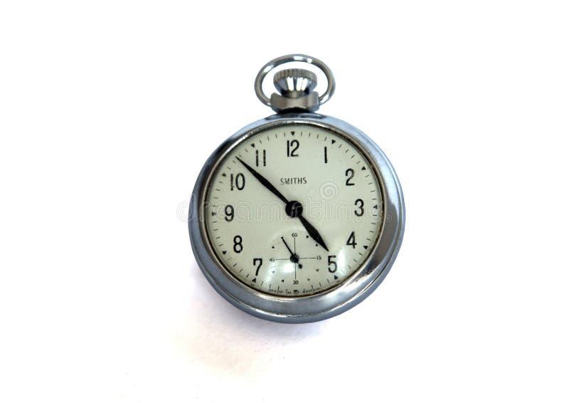 Εκλεκτής ποιότητας ρολόι Smiths τσεπών στοκ εικόνα με δικαίωμα ελεύθερης χρήσης