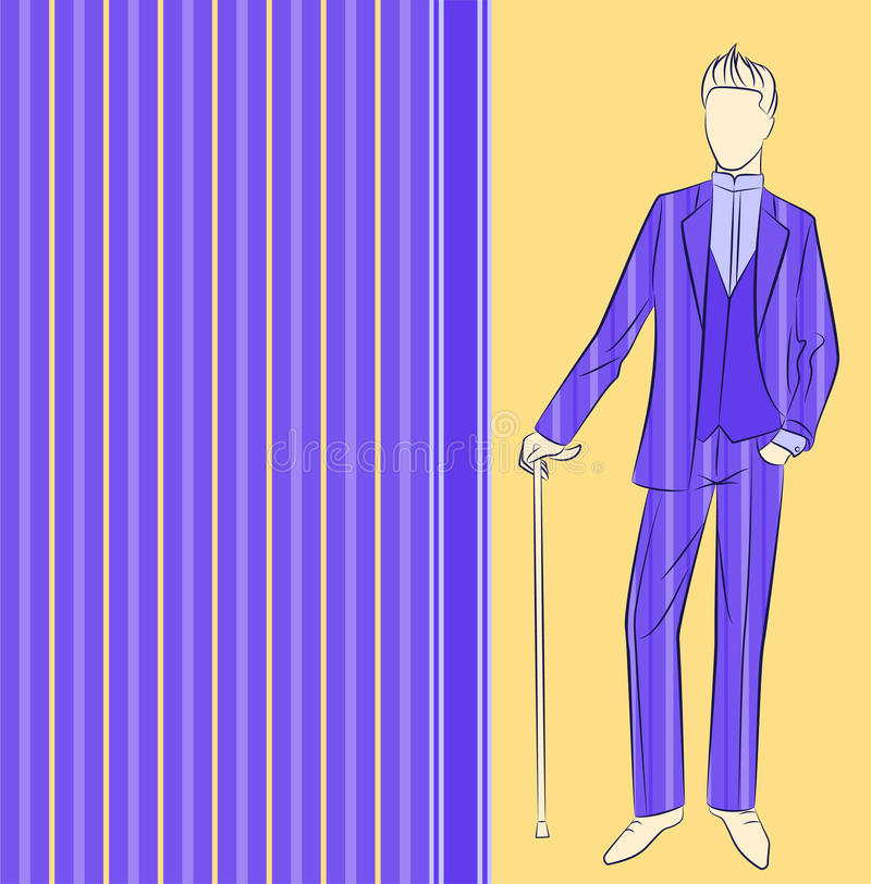 Εκλεκτής ποιότητας σκιαγραφία του ατόμου. ελεύθερη απεικόνιση δικαιώματος