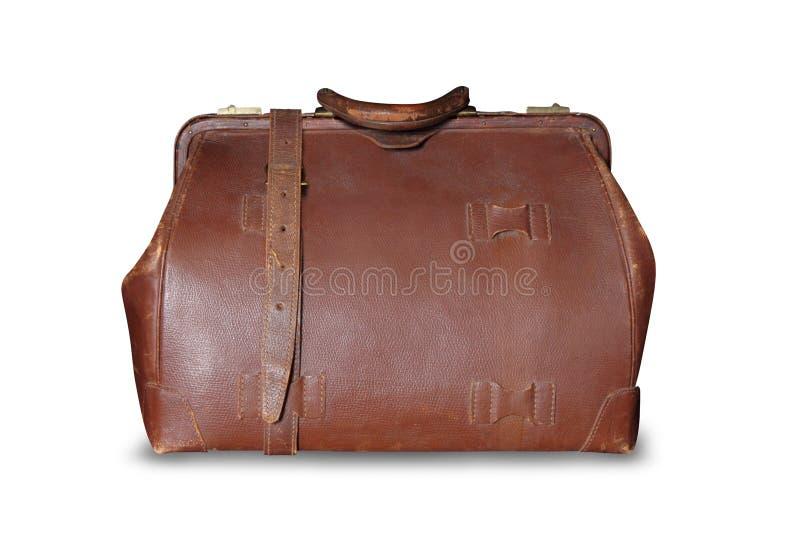 Εκλεκτής ποιότητας τσάντα δέρματος στοκ φωτογραφία με δικαίωμα ελεύθερης χρήσης