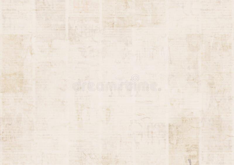 Εκλεκτής ποιότητας υπόβαθρο σύστασης εγγράφου εφημερίδων grunge Θολωμένο παλαιό υπόβαθρο εφημερίδων στοκ φωτογραφίες με δικαίωμα ελεύθερης χρήσης