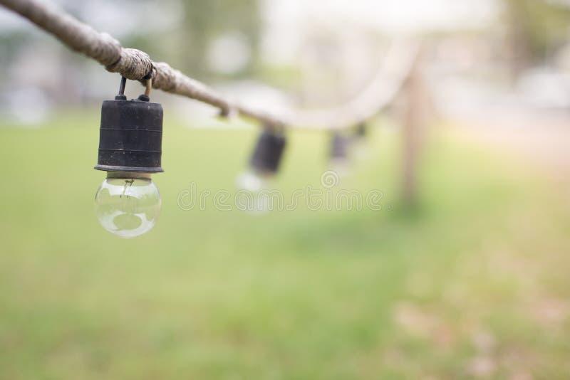 Εκλεκτική εστίαση της διακοσμητικής διάβασης πεζών κήπων λαμπτήρων στοκ φωτογραφία με δικαίωμα ελεύθερης χρήσης