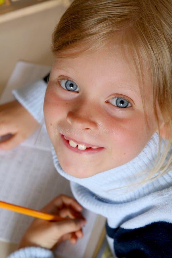 εκμάθηση αλφάβητου στοκ φωτογραφίες