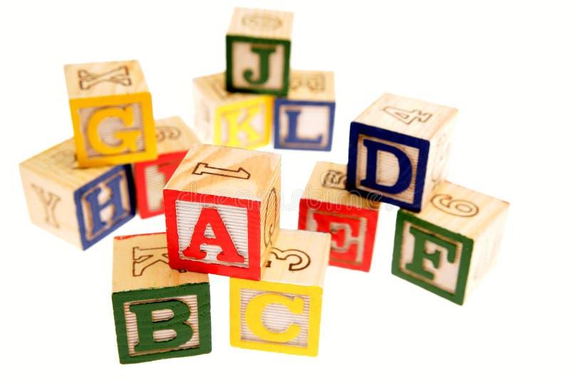 εκμάθηση ομάδων δεδομένων αλφάβητου στοκ εικόνες