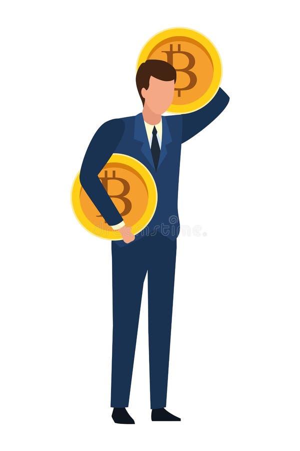 Εκμετάλλευση επιχειρηματιών bitcoin απεικόνιση αποθεμάτων