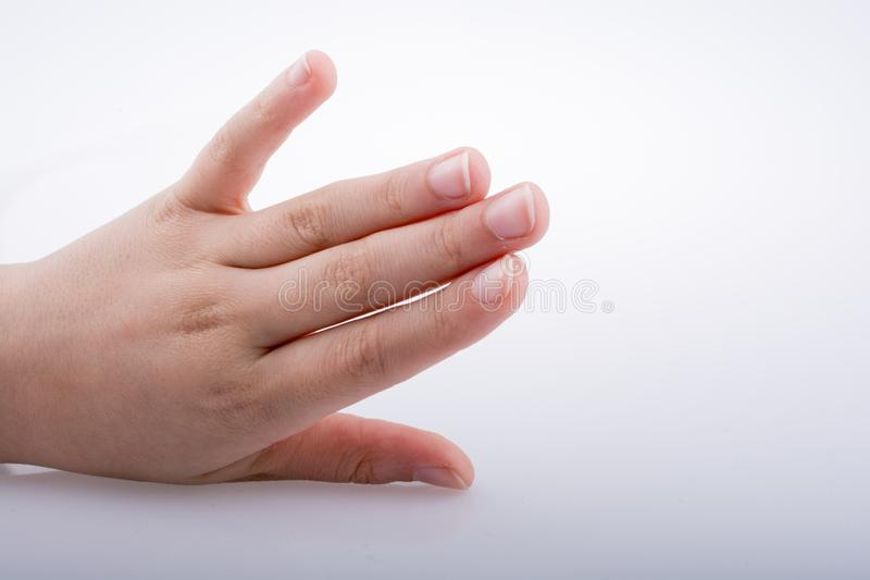Εκμετάλλευση χεριών στοκ εικόνες