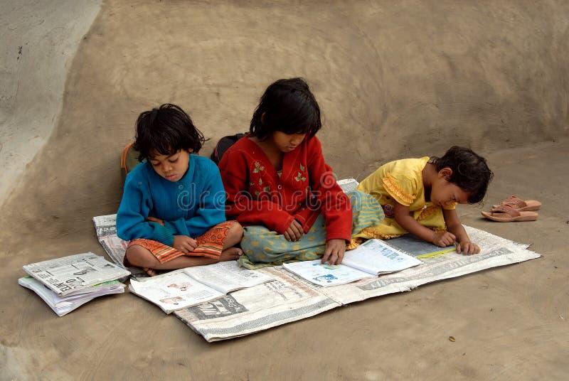 εκπαίδευση Ινδία αγροτ&iota στοκ φωτογραφίες με δικαίωμα ελεύθερης χρήσης