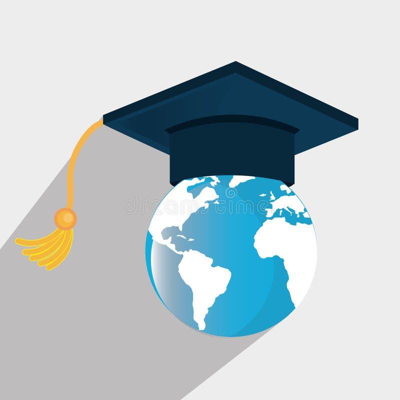 Εκπαίδευση, βαθμολόγηση και ακαδημαϊκό ελεύθερη απεικόνιση δικαιώματος