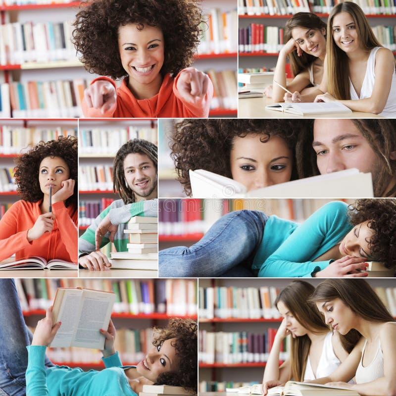 Εκπαίδευση: σπουδαστές στοκ φωτογραφία με δικαίωμα ελεύθερης χρήσης