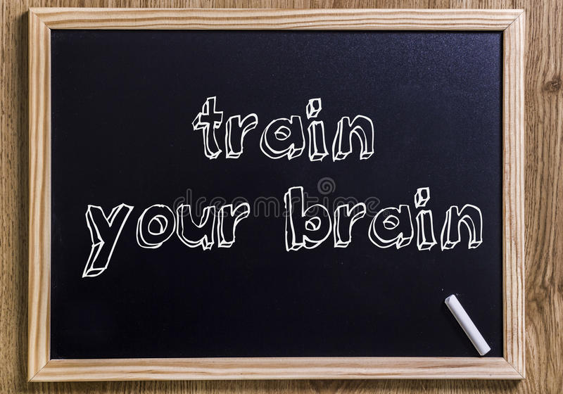 Εκπαιδεύστε τον εγκέφαλό σας στοκ φωτογραφίες