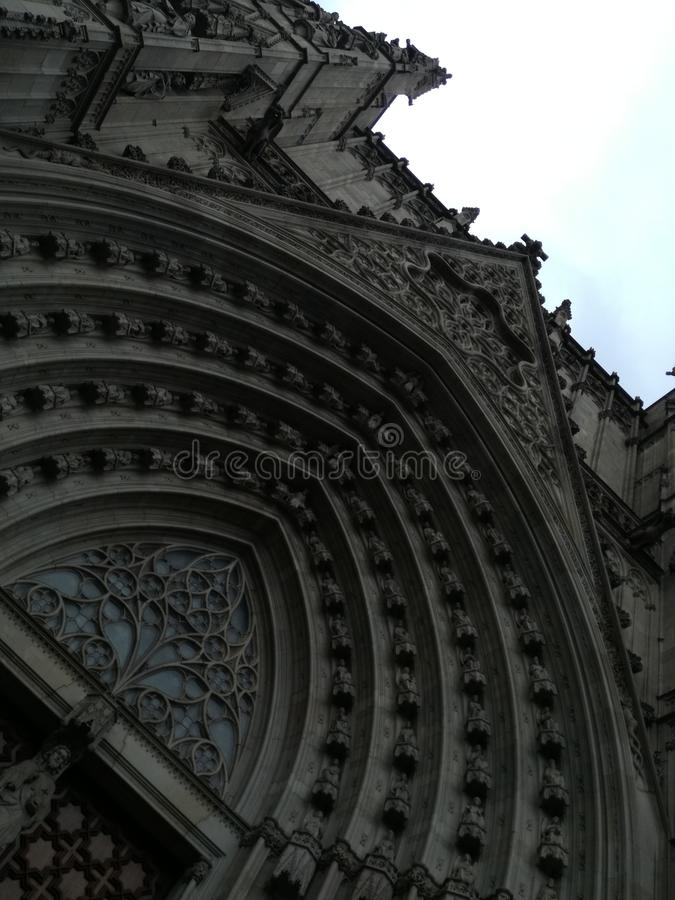 Εκπληκτικά όμορφος καθεδρικός ναός στοκ φωτογραφίες με δικαίωμα ελεύθερης χρήσης