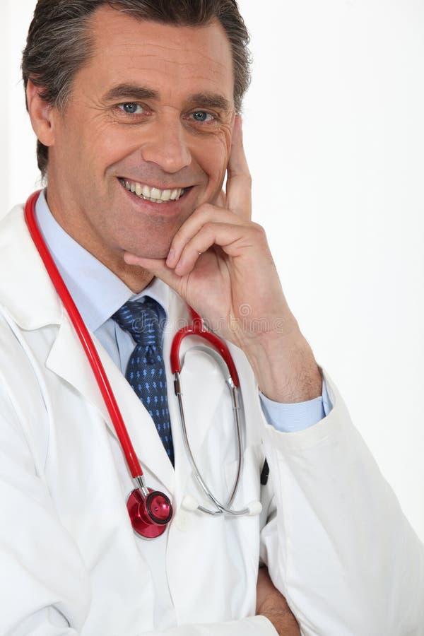 Εκπληρωμένος ιατρός στοκ φωτογραφίες με δικαίωμα ελεύθερης χρήσης