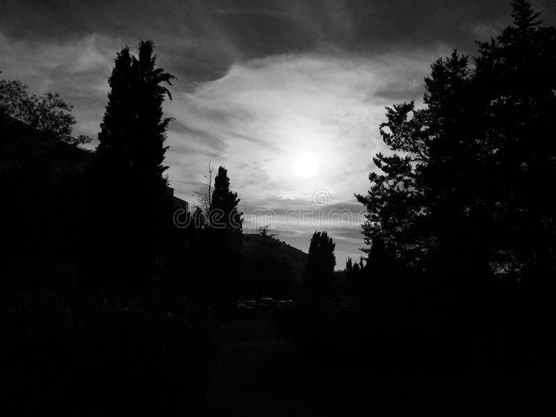 Εκρηκτική ηλιοφάνεια στοκ εικόνα με δικαίωμα ελεύθερης χρήσης