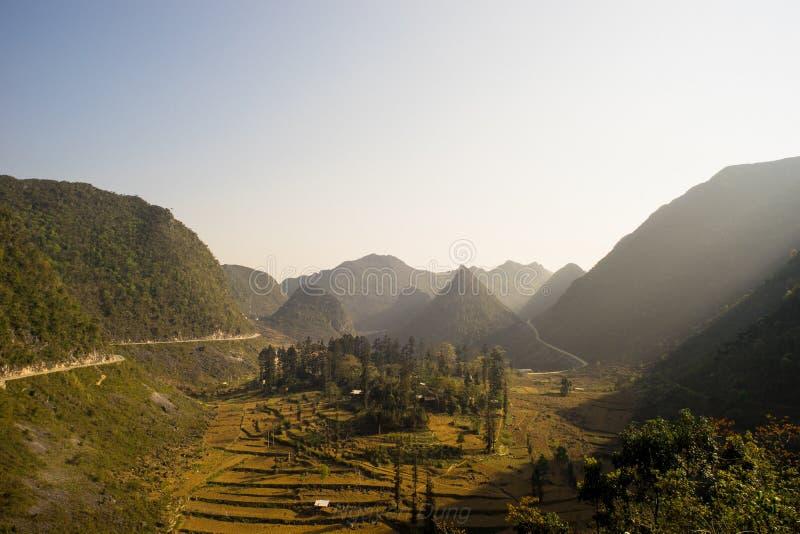 Εκτάριο provine Giang στοκ φωτογραφίες