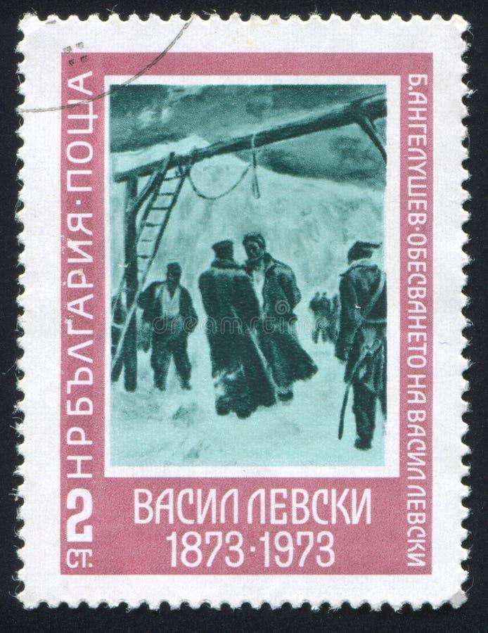 Εκτέλεση Levski στοκ εικόνα με δικαίωμα ελεύθερης χρήσης