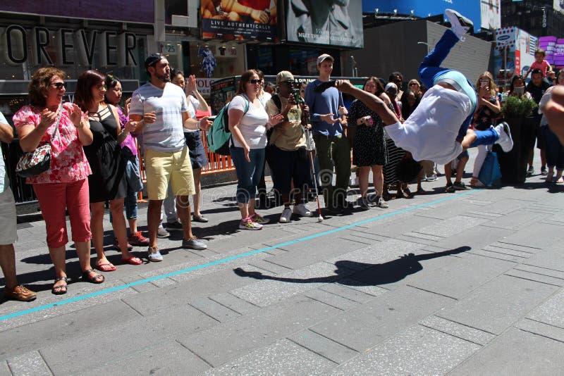 Εκτελεστές οδών πόλεων της Νέας Υόρκης στοκ φωτογραφία