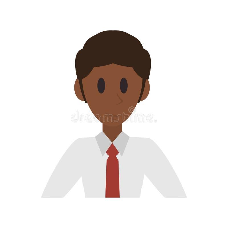 Εκτελεστικά κινούμενα σχέδια χαρακτήρα επιχειρηματιών απεικόνιση αποθεμάτων