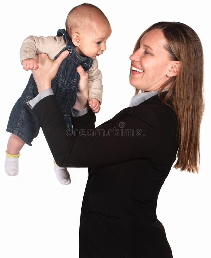 εκτελεστική μητέρα παιδιών στοκ φωτογραφία με δικαίωμα ελεύθερης χρήσης