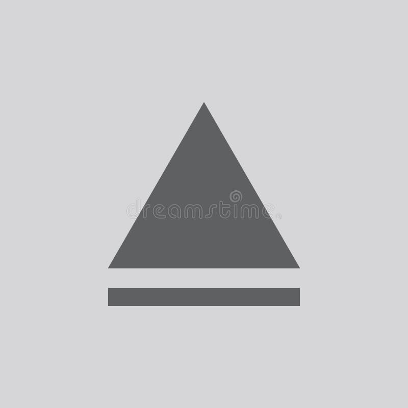 εκτινάξτε το εικονίδιο Απομονωμένο σύμβολο σημαδιών ελεύθερη απεικόνιση δικαιώματος