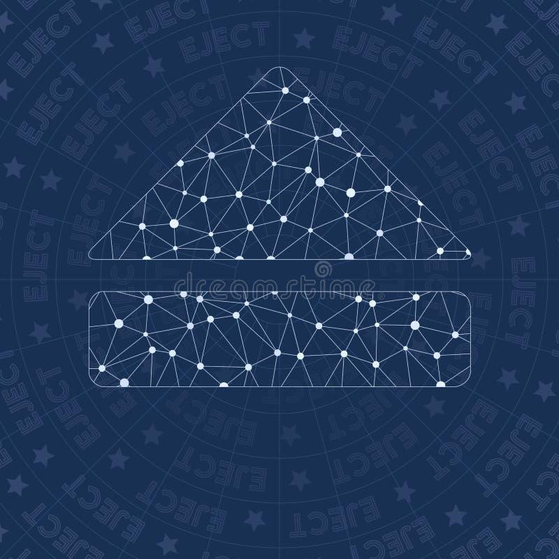 Εκτινάξτε το σύμβολο δικτύων ελεύθερη απεικόνιση δικαιώματος