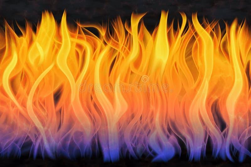 Εκτοξεύσεις της φλόγας ελεύθερη απεικόνιση δικαιώματος