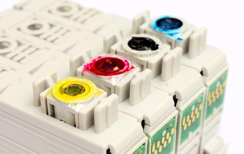 εκτυπωτής κασετών στοκ φωτογραφία με δικαίωμα ελεύθερης χρήσης