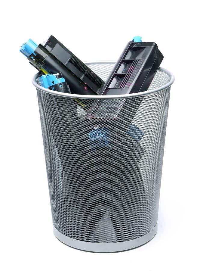 εκτυπωτής λέιζερ κασετών χρησιμοποιούμενος στοκ εικόνες με δικαίωμα ελεύθερης χρήσης