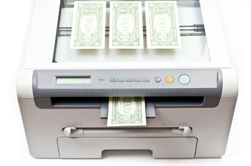Download εκτυπωτής χρημάτων στοκ εικόνες. εικόνα από σχέδιο, εικόνα - 17057304