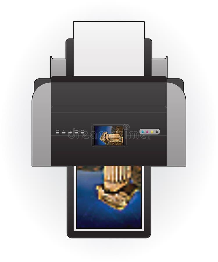εκτυπωτής Inkjet απεικόνιση αποθεμάτων