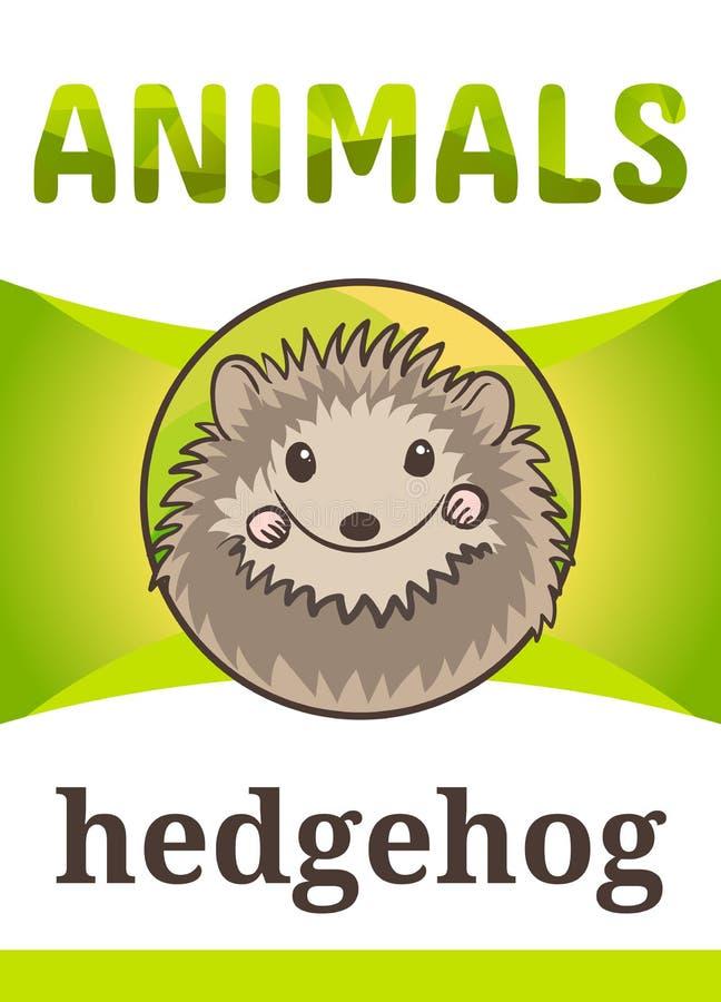 Εκτυπώσιμη ζωική κάρτα λάμψης ελεύθερη απεικόνιση δικαιώματος
