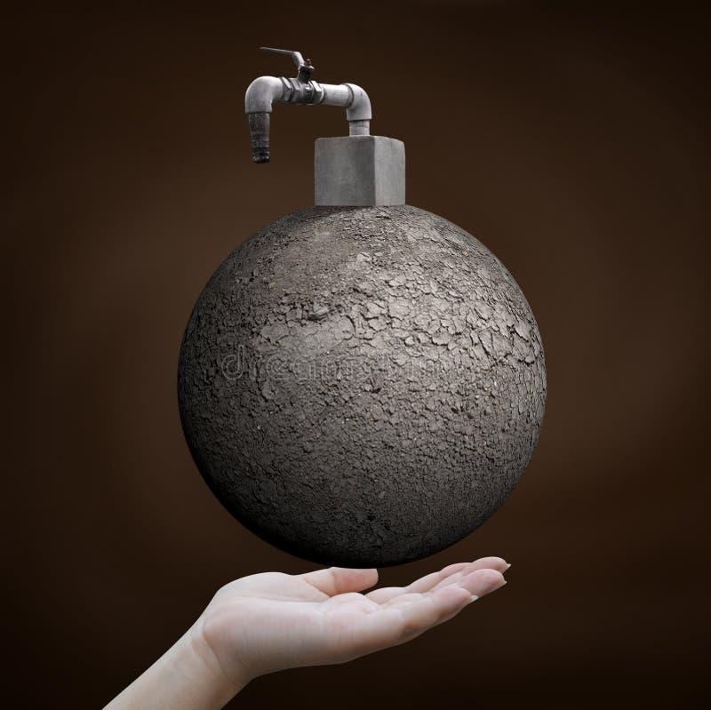 Εκτός από την έννοια νερού στοκ εικόνες με δικαίωμα ελεύθερης χρήσης