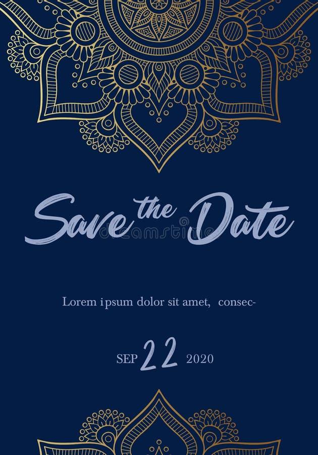 Εκτός από το σχέδιο καρτών πρόσκλησης ημερομηνίας r 10 eps ελεύθερη απεικόνιση δικαιώματος
