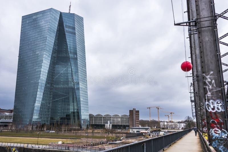 ΕΚΤ - Ευρωπαϊκή Κεντρική Τράπεζα στοκ εικόνες