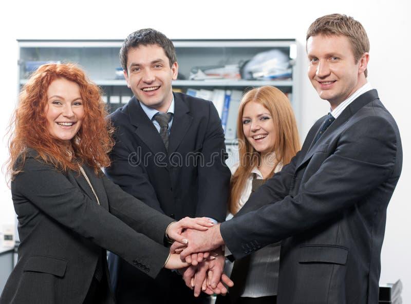 εκφράστε την ομάδα θετική&s στοκ φωτογραφία με δικαίωμα ελεύθερης χρήσης