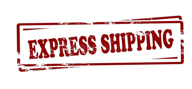 Εκφράστε τη ναυτιλία ελεύθερη απεικόνιση δικαιώματος
