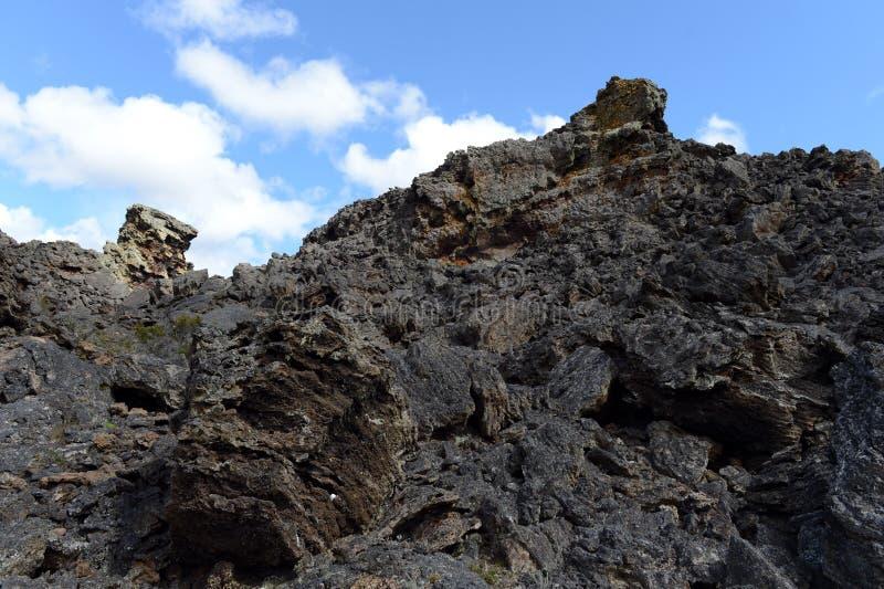 Εκλείψας ηφαίστειο η διανομή του διαβόλου στο εθνικό πάρκο Pali Aike στοκ φωτογραφία