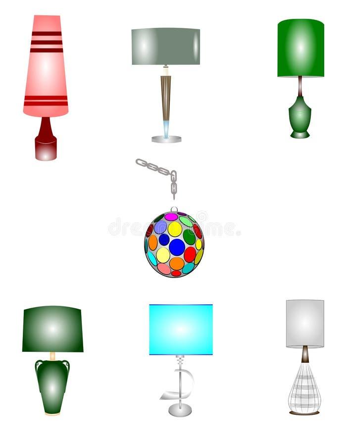 Εκλεκτής ποιότητας λαμπτήρες διανυσματική απεικόνιση