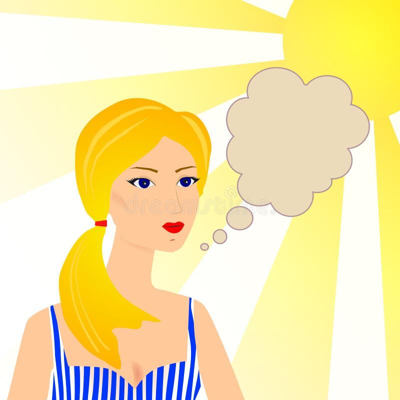 Εκλεκτής ποιότητας αναδρομική διαφήμιση γυναικών τέχνης συνδετήρων απεικόνιση αποθεμάτων