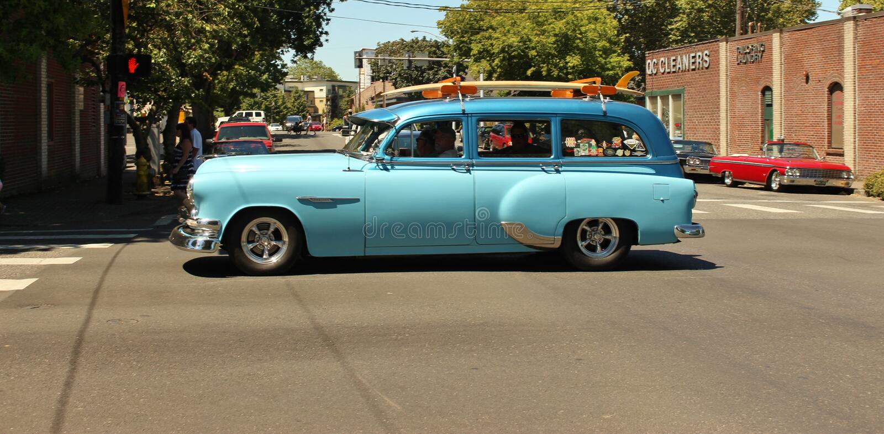 Εκλεκτής ποιότητας αυτοκίνητα στοκ φωτογραφία