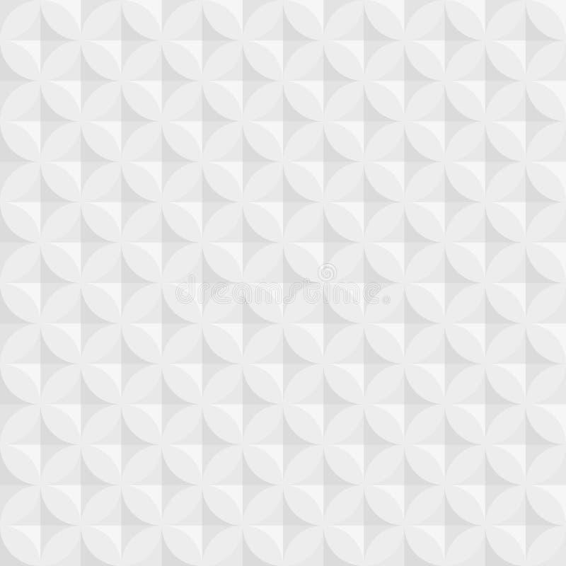 Εκλεκτής ποιότητας αφηρημένο άνευ ραφής σχέδιο κύκλων με τα διακοσμητικά γεωμετρικά και αφηρημένα στοιχεία Διανυσματική ανασκόπησ ελεύθερη απεικόνιση δικαιώματος