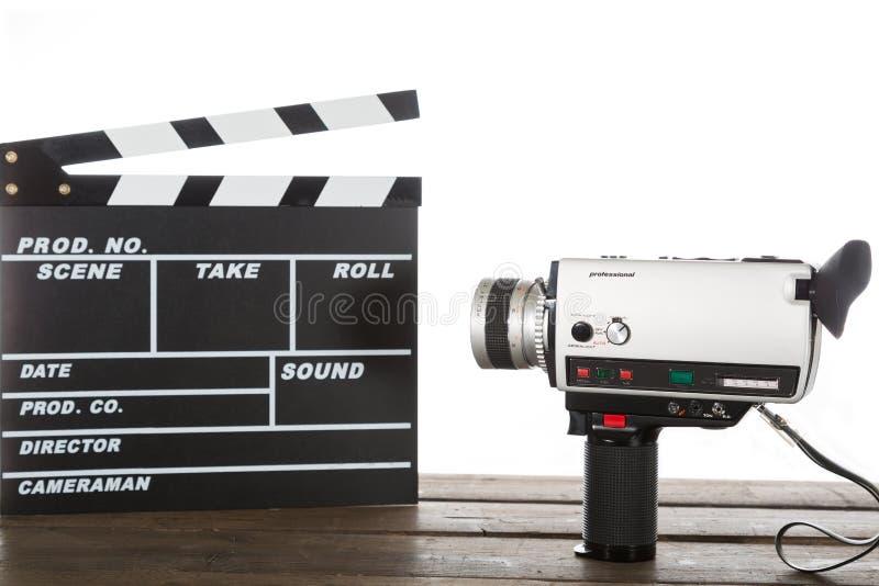 Εκλεκτής ποιότητας βίντεο καμερών στοκ φωτογραφία