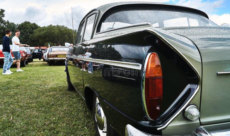 Εκλεκτής ποιότητας γεγονός αυτοκινήτων Humber κλασικό στοκ εικόνα