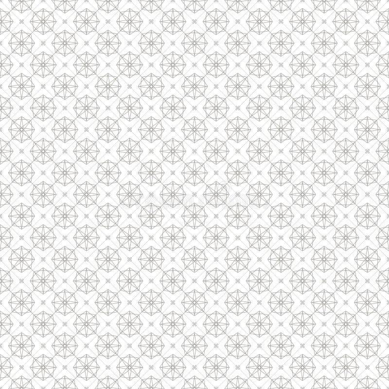 Εκλεκτής ποιότητας γεωμετρικό υπόβαθρο σχεδίων γραμμών άνευ ραφής ελεύθερη απεικόνιση δικαιώματος