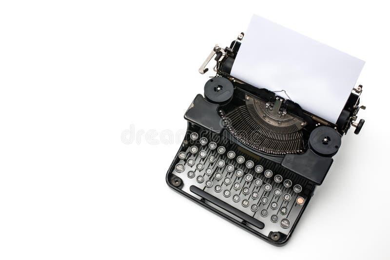 Εκλεκτής ποιότητας γραφομηχανή στοκ φωτογραφία