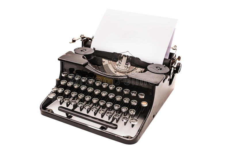 Εκλεκτής ποιότητας γραφομηχανή στοκ εικόνα με δικαίωμα ελεύθερης χρήσης