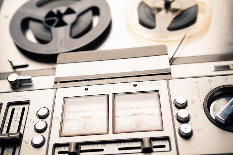 Εκλεκτής ποιότητας εξέλικτρο για να τυλίξει το φορέα και το όργανο καταγραφής στοκ φωτογραφία με δικαίωμα ελεύθερης χρήσης