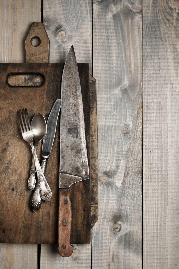 Εκλεκτής ποιότητας εργαλεία κουζινών στοκ φωτογραφίες με δικαίωμα ελεύθερης χρήσης