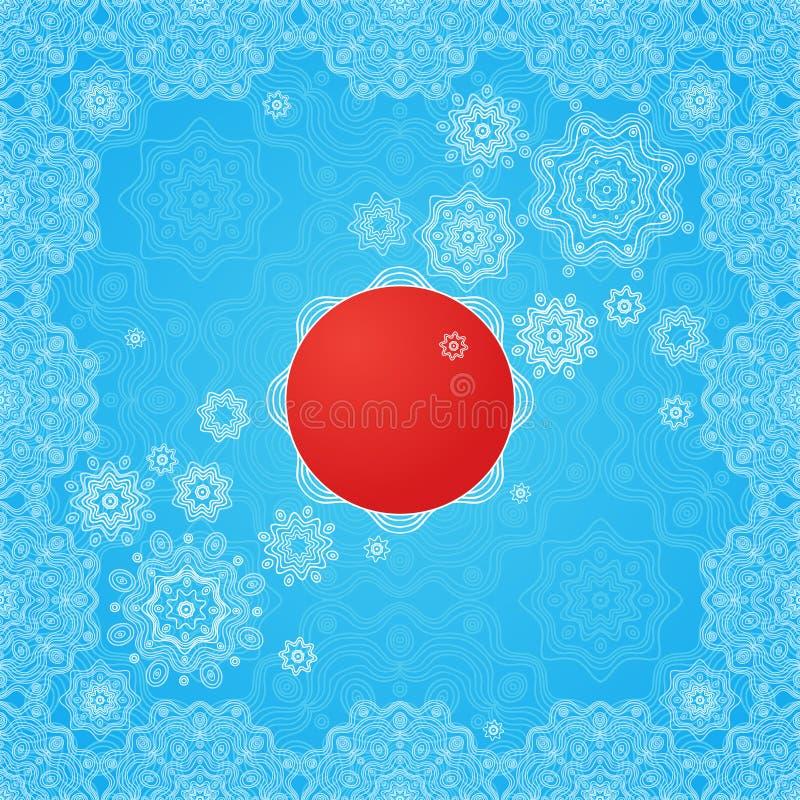 Εκλεκτής ποιότητας ευχετήριες κάρτες με τα floral μοτίβα στο ανατολικό ύφος απεικόνιση αποθεμάτων