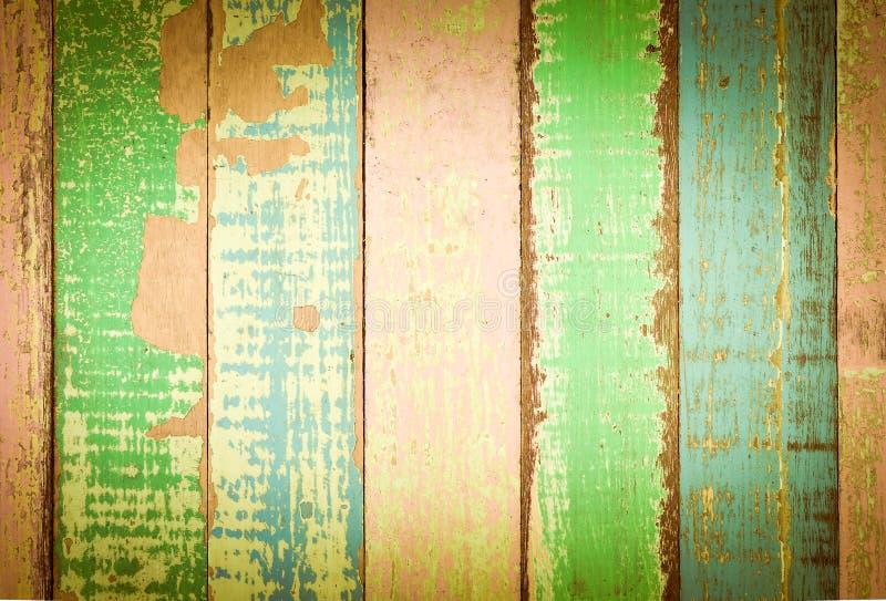 Εκλεκτής ποιότητας ζωηρόχρωμος τοίχος στοκ εικόνες