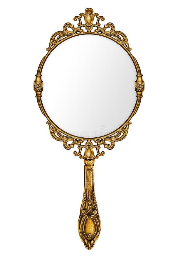 Εκλεκτής ποιότητας καθρέφτης χεριών στοκ εικόνες με δικαίωμα ελεύθερης χρήσης